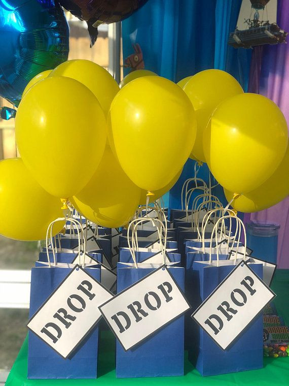 Best ideas about Fortnite Birthday Party Supplies . Save or Pin Fortnite inspired Drop labels perfect for your fortnite Now.