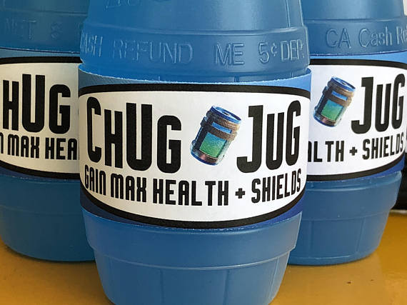 Best ideas about Fortnite Birthday Party Supplies . Save or Pin Fortnite birthday party CHUG JUG printable bottle wraps Now.