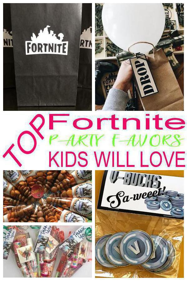 Best ideas about Fortnite Birthday Party Supplies . Save or Pin Fortnite Party Favor Ideas Now.
