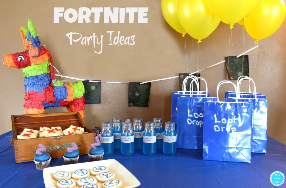 Best ideas about Fortnite Birthday Party Supplies . Save or Pin FORTNITE Party Ideas Desserts Decorations and Fun Now.