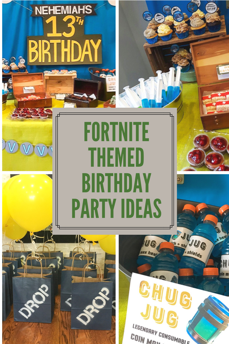 Best ideas about Fortnite Birthday Party Supplies . Save or Pin Fortnite Themed Birthday Party Now.