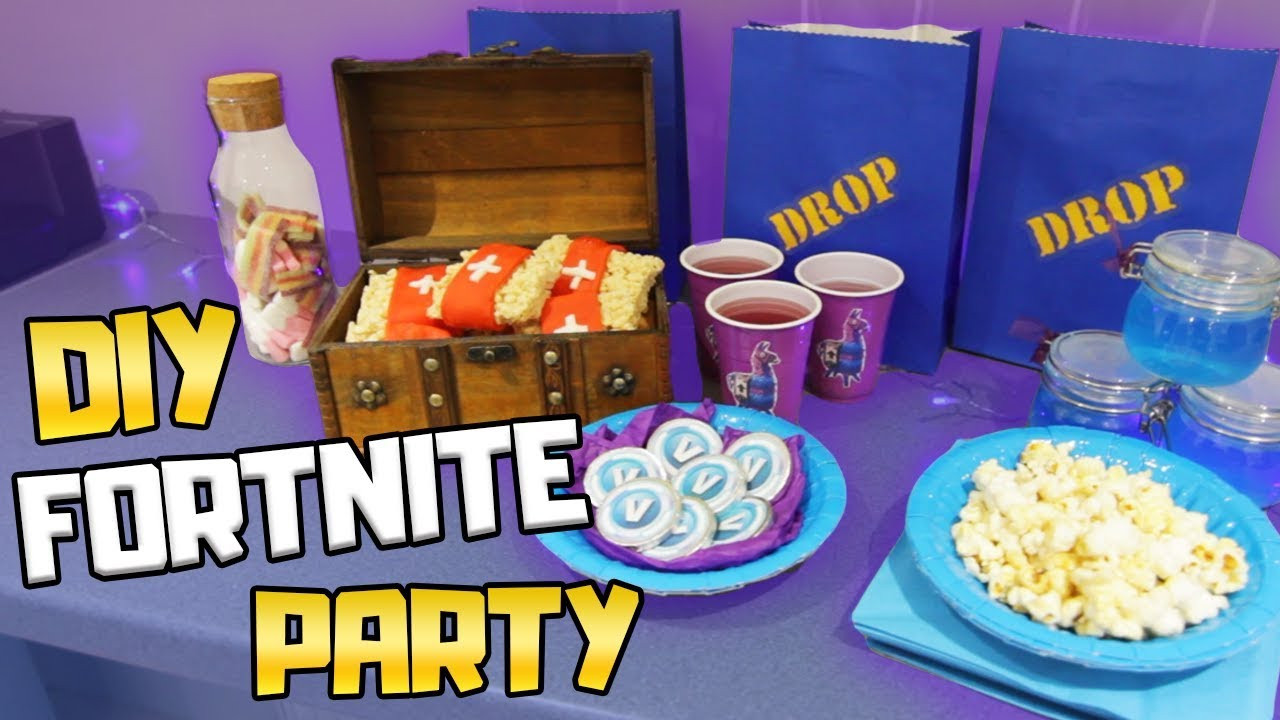 Best ideas about Fortnite Birthday Party Supplies . Save or Pin DIY Fortnite Birthday Party Ideas Now.
