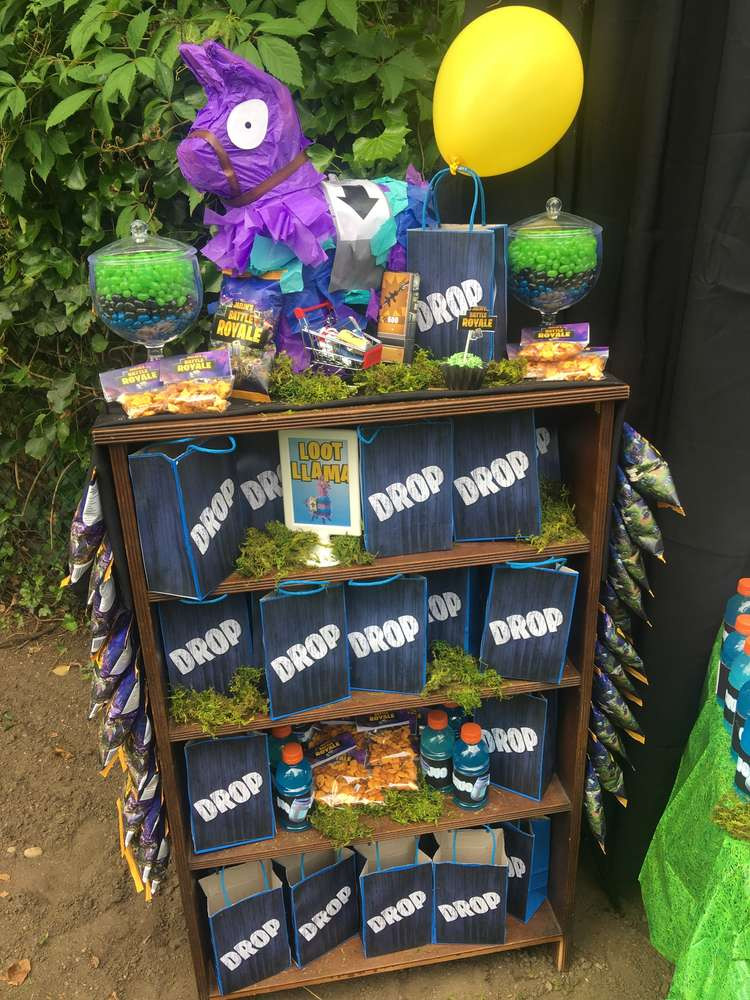 Best ideas about Fortnite Birthday Party Supplies . Save or Pin Fortnite Birthday Party Ideas 7 of 18 Now.