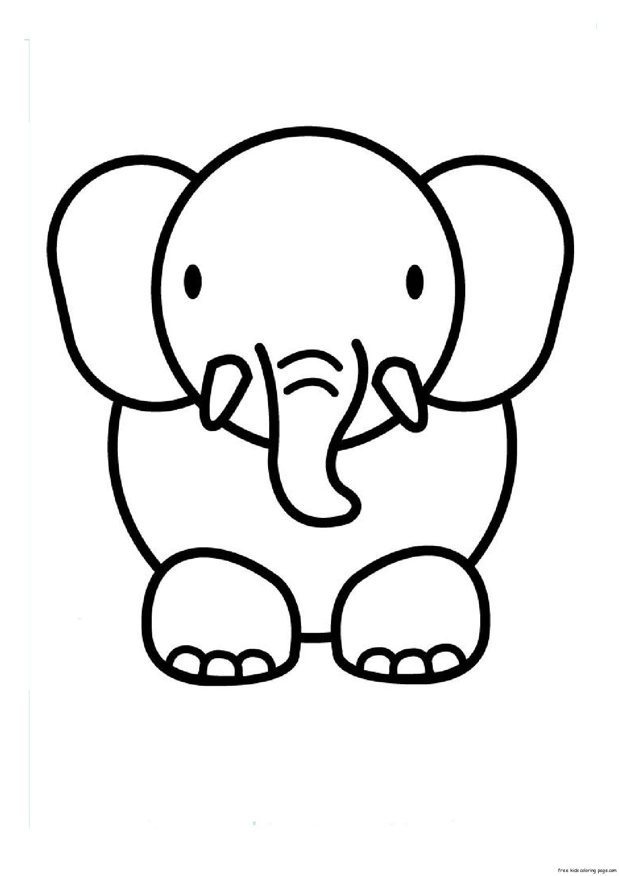Best ideas about Free Coloring Pages Animals To Print . Save or Pin Animal Coloring Pages Bestofcoloring Now.