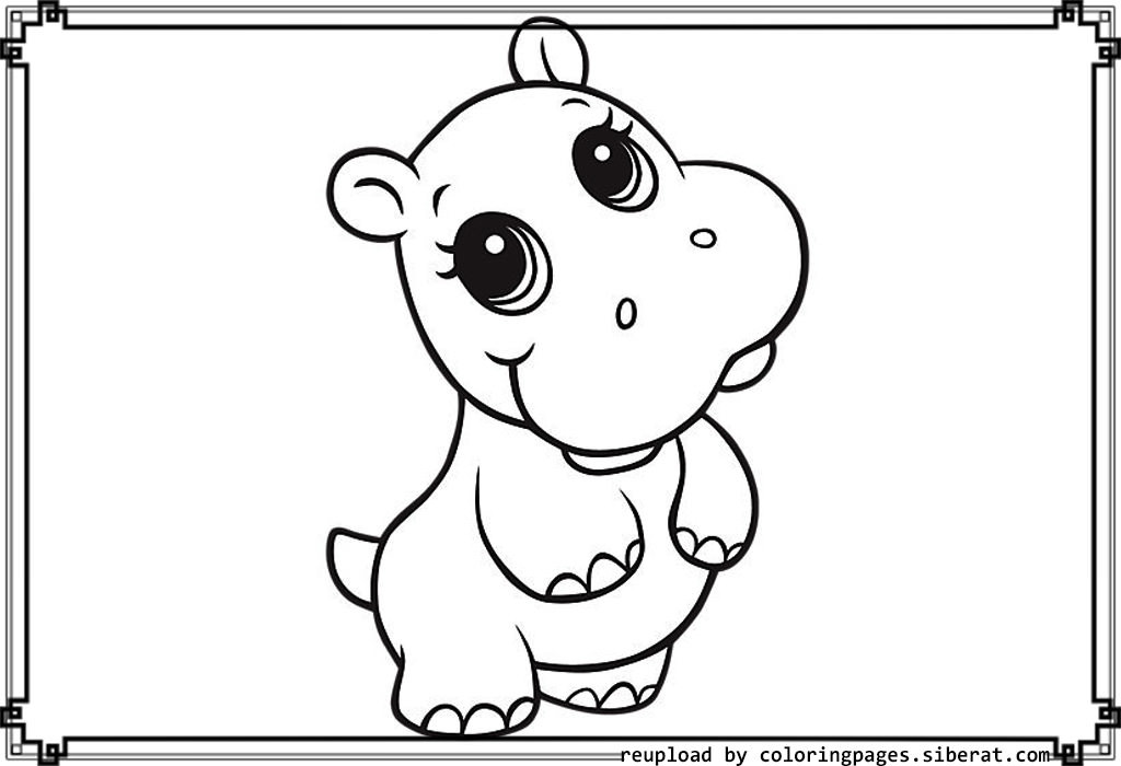 Best ideas about Free Coloring Pages Animals To Print . Save or Pin Baby Animal Coloring Pages Bestofcoloring Now.