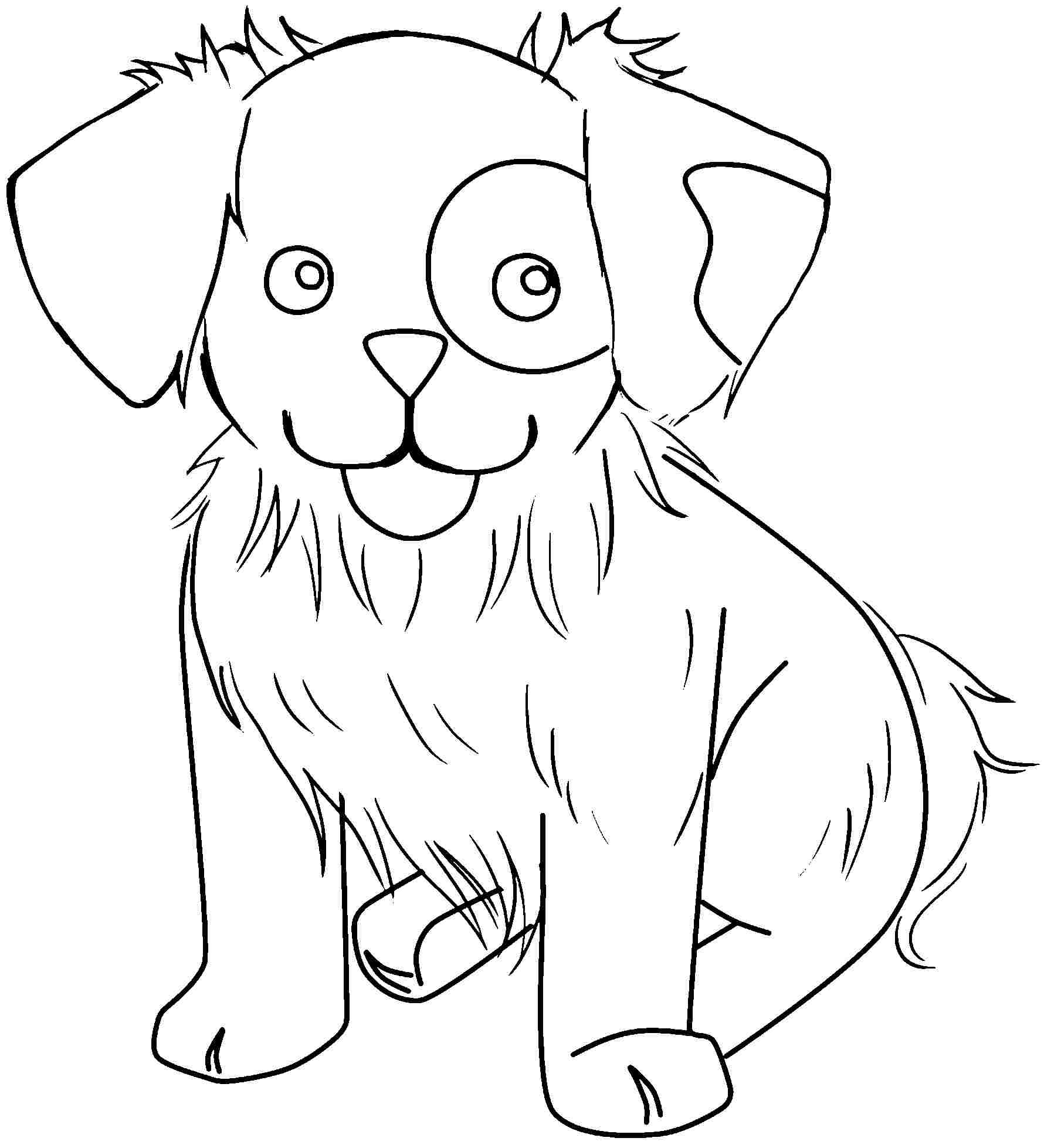 Best ideas about Free Coloring Pages Animals To Print . Save or Pin Free Printable Cute Animal Coloring Pages Coloring Home Now.