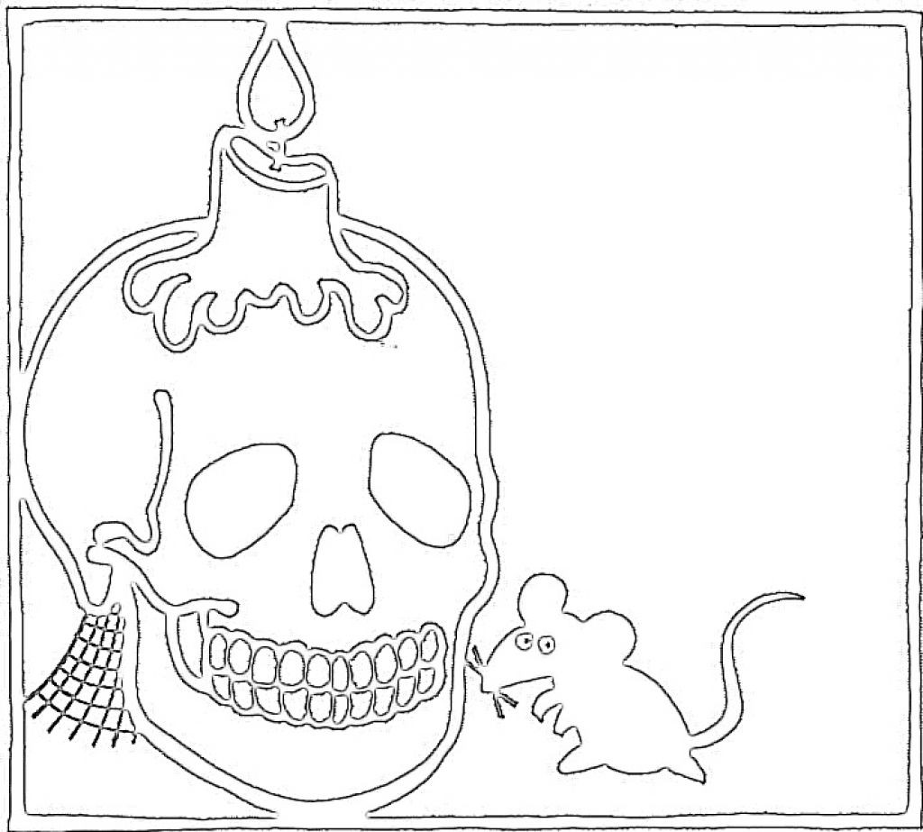 Best ideas about Free Coloring Pages Com . Save or Pin Free Printable Skull Coloring Pages For Kids Now.