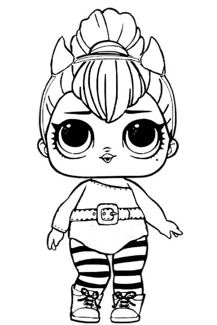 Best ideas about Free Coloring Pages Com . Save or Pin LOL Dolls Coloring Pages Best Coloring Pages For Kids Now.