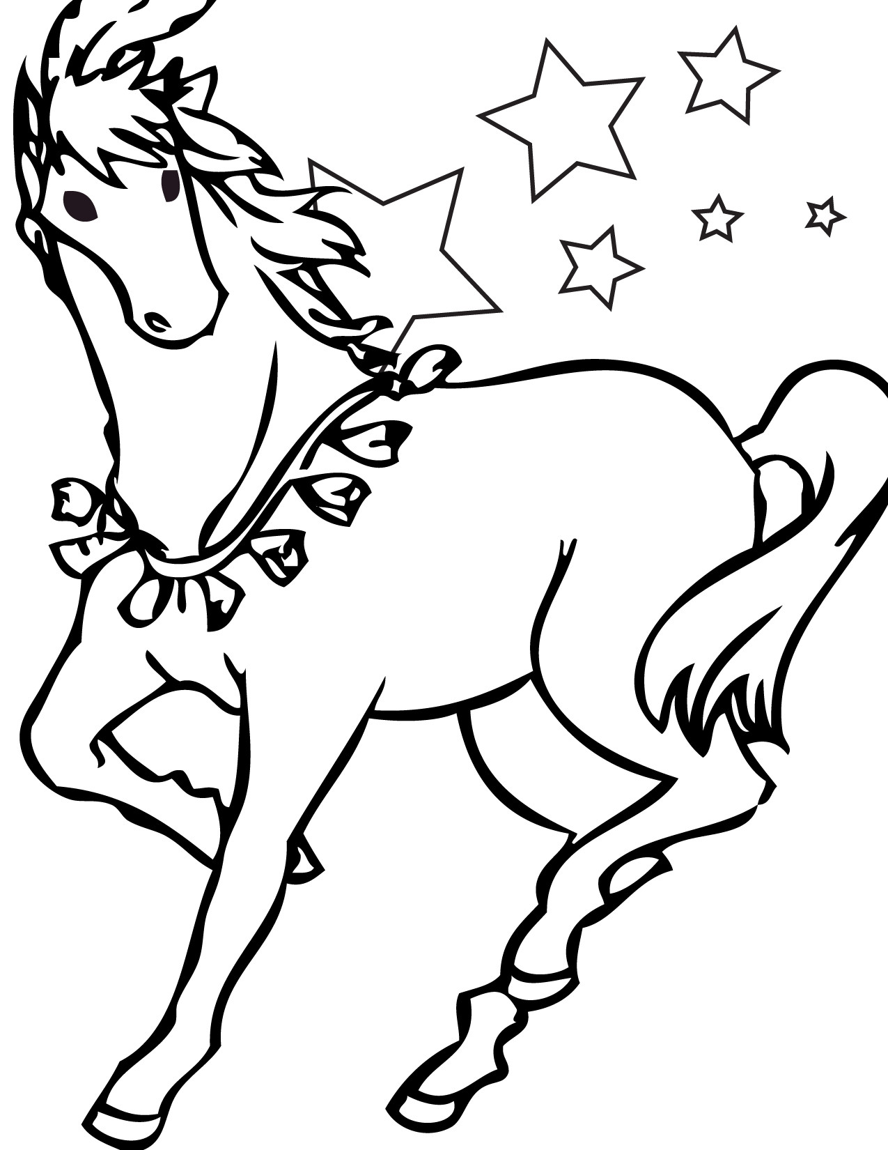Best ideas about Free Coloring Pages Com . Save or Pin Appaloosa Horse Coloring Page Free Printable Coloring Now.