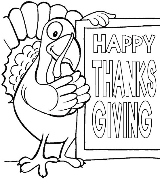 Best ideas about Free Coloring Pages For Thanksgiving Day . Save or Pin Happy Thanksgiving Coloring Pages For Kids Now.