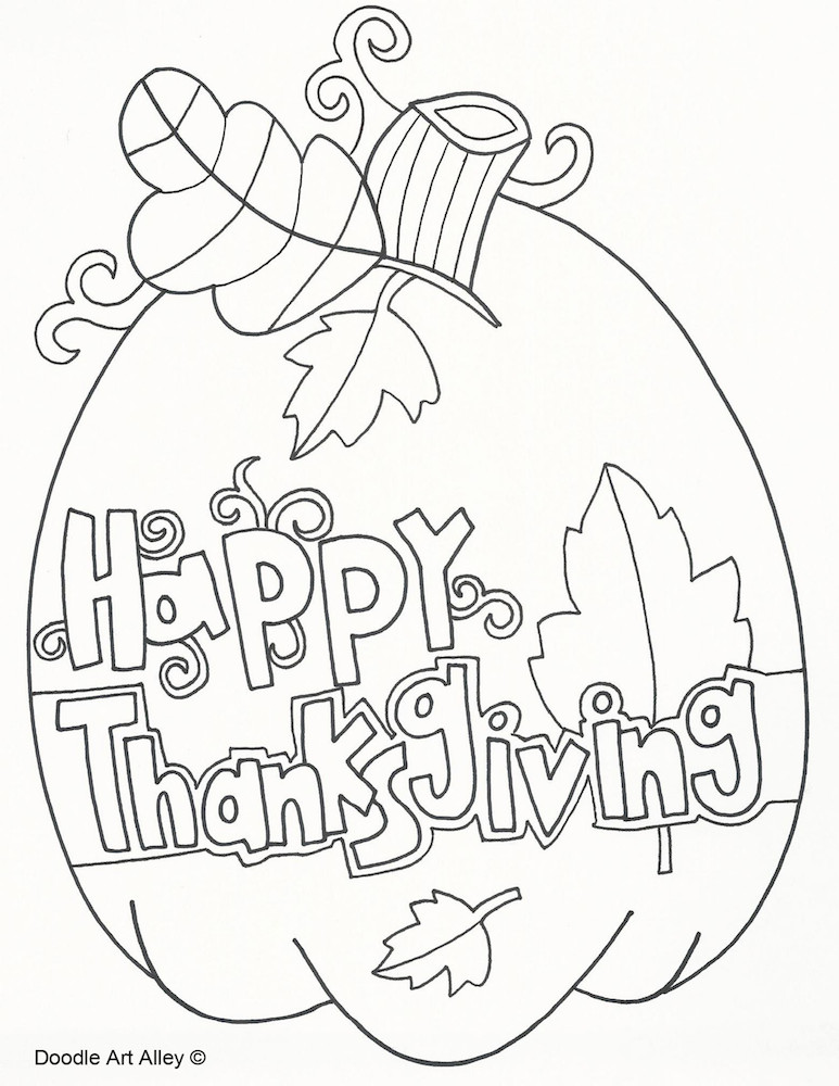 Best ideas about Free Coloring Pages For Thanksgiving Day . Save or Pin Thanksgiving Coloring Pages Now.