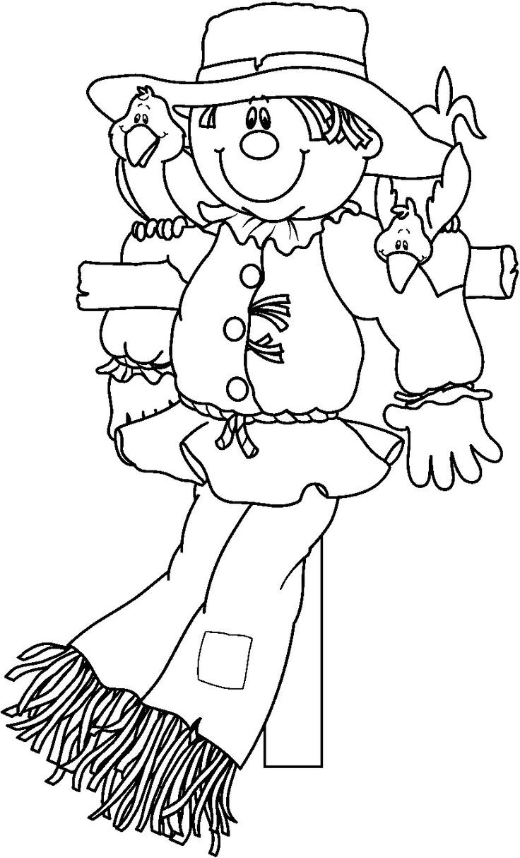 Best ideas about Free Coloring Pages Of Scarecrows . Save or Pin Scarecrow Coloring Pages coloringsuite Now.
