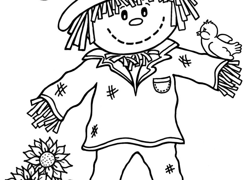 Best ideas about Free Coloring Pages Of Scarecrows . Save or Pin 15 printable scarecrow coloring pages Print Color Craft Now.