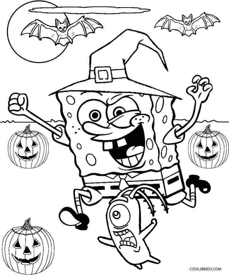 Best ideas about Free Coloring Pages Of Spongebob And Friends . Save or Pin 40 Free Printable Halloween Coloring Pages For Kids Now.