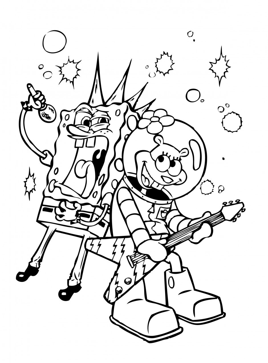 Best ideas about Free Coloring Pages Of Spongebob And Friends . Save or Pin Coloring Pages Spongebob And Friends Patrick Best Now.