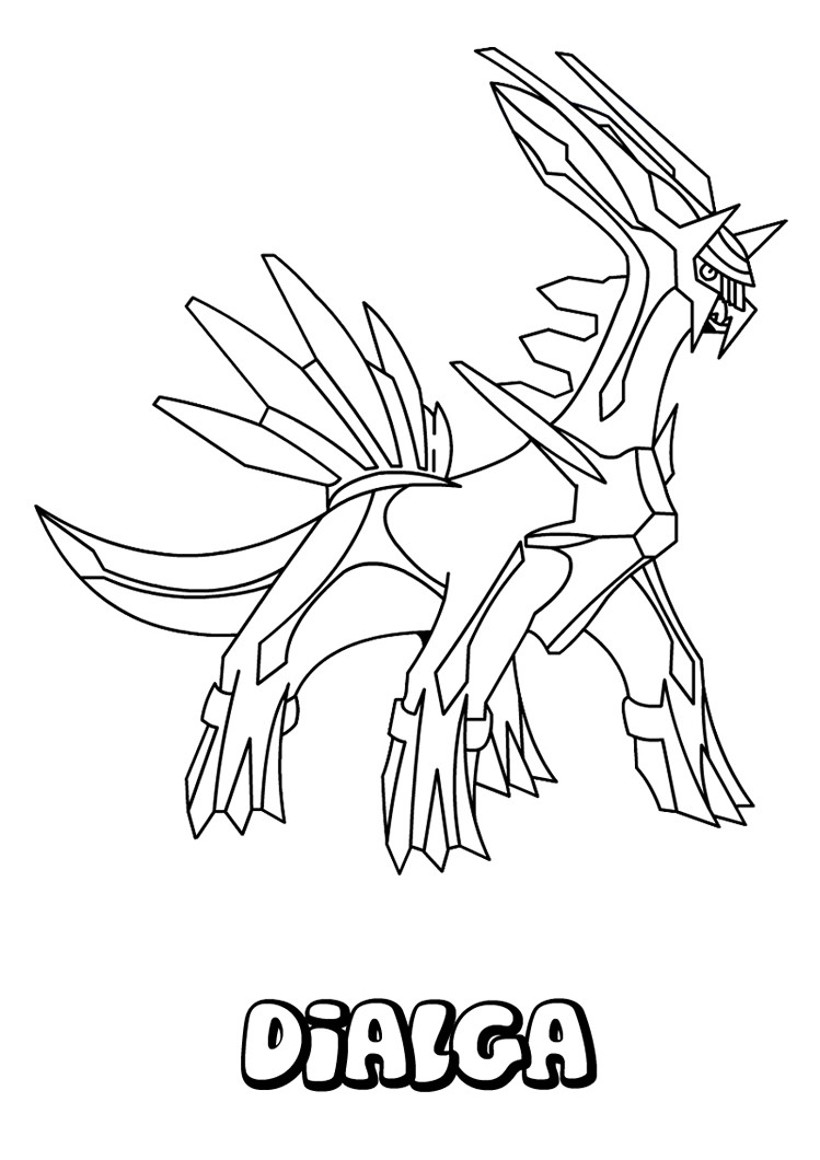 Best ideas about Free Coloring Pages Pokemon Abomasnow . Save or Pin Legendary Pokemon Coloring Sheets Labels Pages Dialga Now.