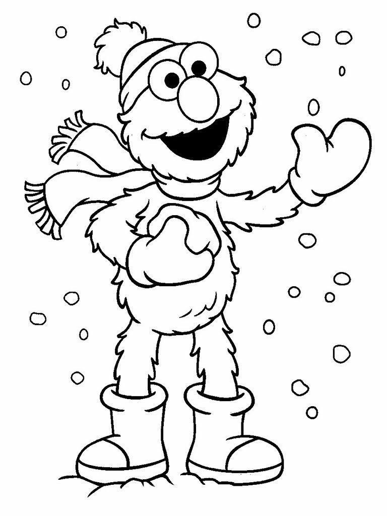 Best ideas about Free Coloring Pages Printable Christmas . Save or Pin Elmo Christmas Printable Coloring Pages Free Printable Now.