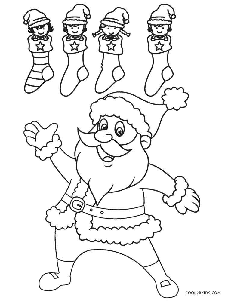 Best ideas about Free Coloring Pages Santa Printable . Save or Pin Free Printable Santa Coloring Pages For Kids Now.