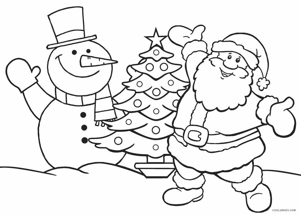 Best ideas about Free Coloring Pages Santa Printable . Save or Pin Holiday Coloring Pages Now.