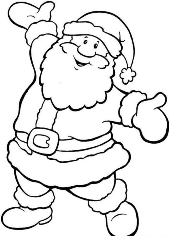 Best ideas about Free Coloring Pages Santa Printable . Save or Pin Santa Coloring Pages Printable Santa Claus Coloring Now.