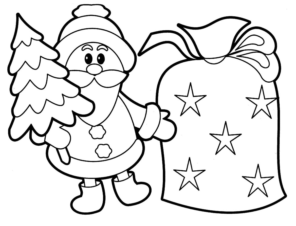 Best ideas about Free Coloring Pages Santa Printable . Save or Pin Free Printable Santa Claus Coloring Pages For Kids Now.