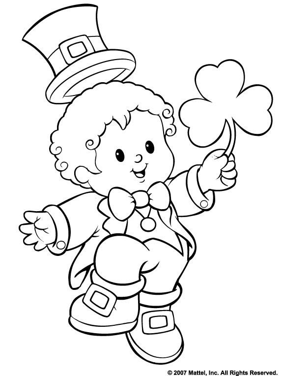 Best ideas about Free Coloring Sheets For Kids For St Patrick'S Day . Save or Pin St Patricks Day Coloring Pages Dr Odd Now.
