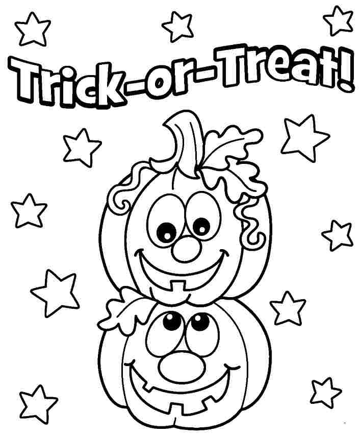 Best ideas about Free Coloring Sheets For Kids Halloween Themed . Save or Pin Halloween Coloring Pages Preschoolers Coloring Home Now.