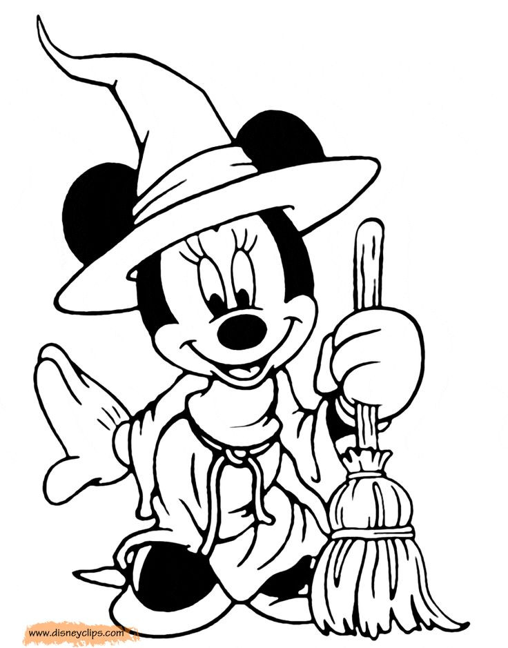 Best ideas about Free Coloring Sheets For Kids Halloween Themed . Save or Pin Disney Coloring Sheets Mickey And Minnie Halloween Now.