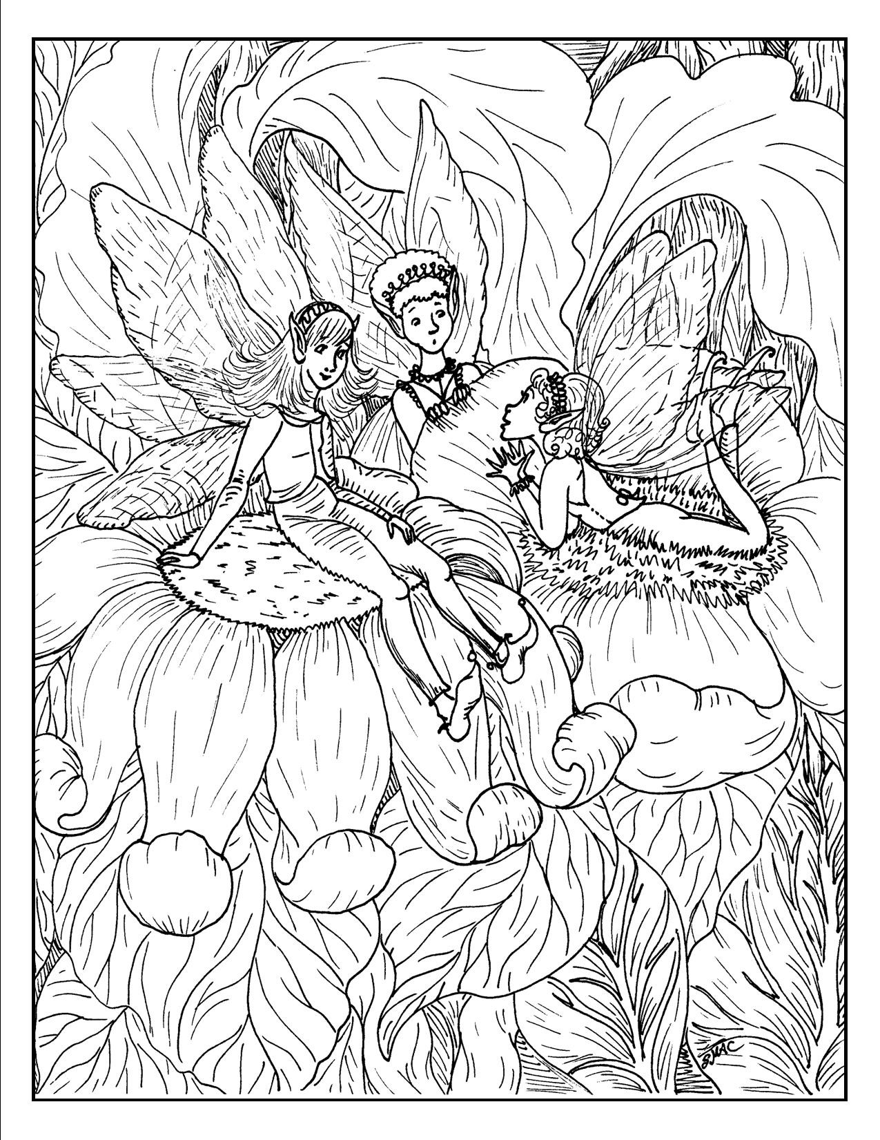 Best ideas about Free Coloring Sheets Kids Fantasy . Save or Pin Fantasy Fairy Coloring Pages AZ Coloring Pages Now.