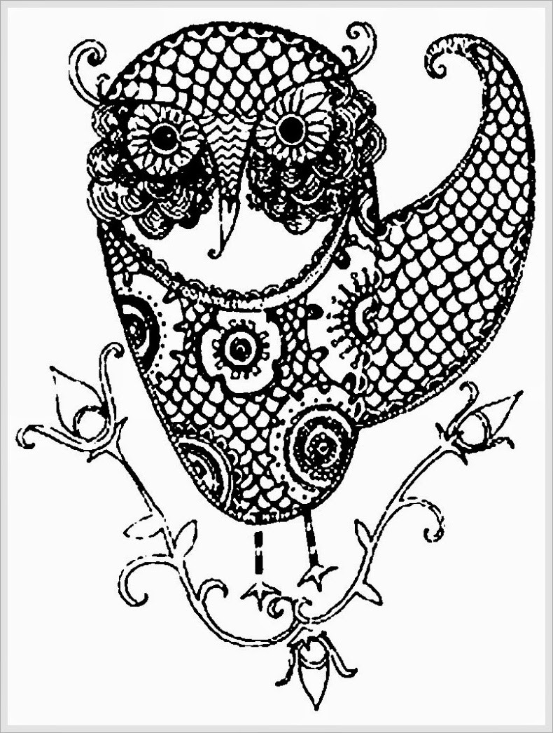 Best ideas about Free Printable Adult Coloring Pages . Save or Pin 44 Awesome Free Printable Coloring Pages for Adults Now.