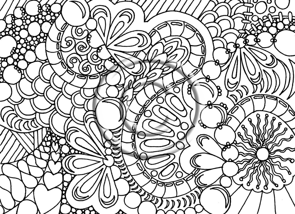 Best ideas about Free Printable Adult Coloring Pages . Save or Pin Free Coloring Pages For Adults Printable Detailed Image 23 Now.