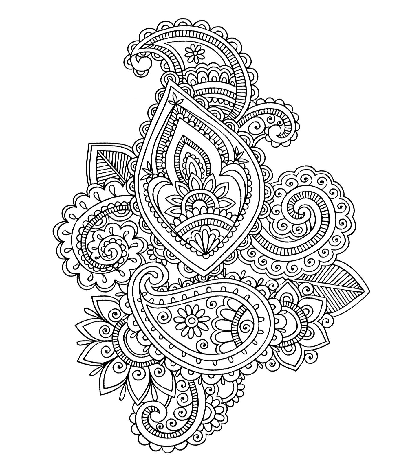 Best ideas about Free Printable Coloring Pages For Adults Hard That Are Zentangles . Save or Pin Mándalas para colorear dibujos mandalas para imprimir Now.