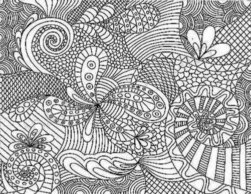 Best ideas about Free Printable Coloring Pages For Adults Hard That Are Zentangles . Save or Pin Coloring For Adults Now.