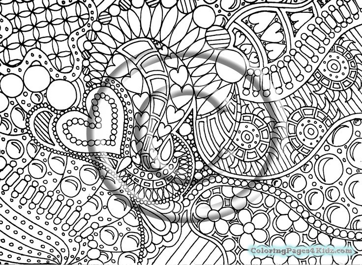 Best ideas about Free Printable Coloring Pages For Adults Hard That Are Zentangles . Save or Pin Hard Zentangle Coloring Pages Now.