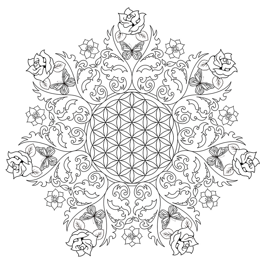 Best ideas about Free Printable Coloring Pages For Adults Only . Save or Pin Free Printable Coloring Pages For Adults ly Image 1 Now.