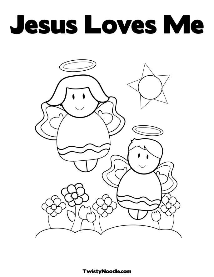 Best ideas about Free Printable Coloring Pages Jesus Loves Me . Save or Pin God Loves Me Coloring Pages Coloring Home Now.