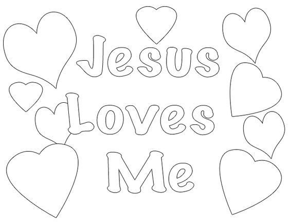 Best ideas about Free Printable Coloring Pages Jesus Loves Me . Save or Pin Jesus Loves Me Coloring Pages Printables Coloring Home Now.