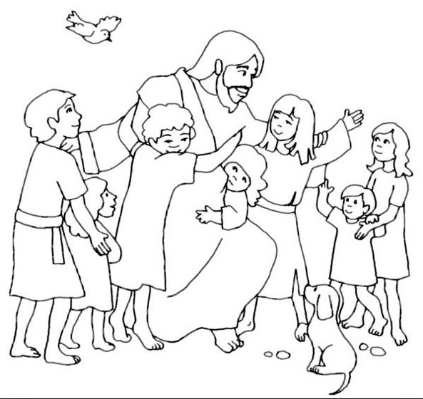 Best ideas about Free Printable Coloring Pages Jesus Loves Me . Save or Pin Jesus Loves Me & Coloring Book Now.