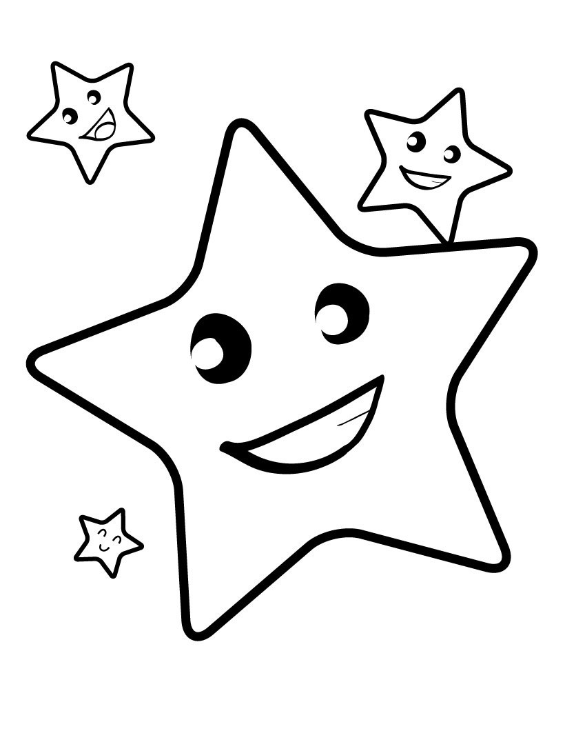 Best ideas about Free Printable Coloring Sheets Of Stars . Save or Pin Free Printable Star Coloring Pages For Kids Now.