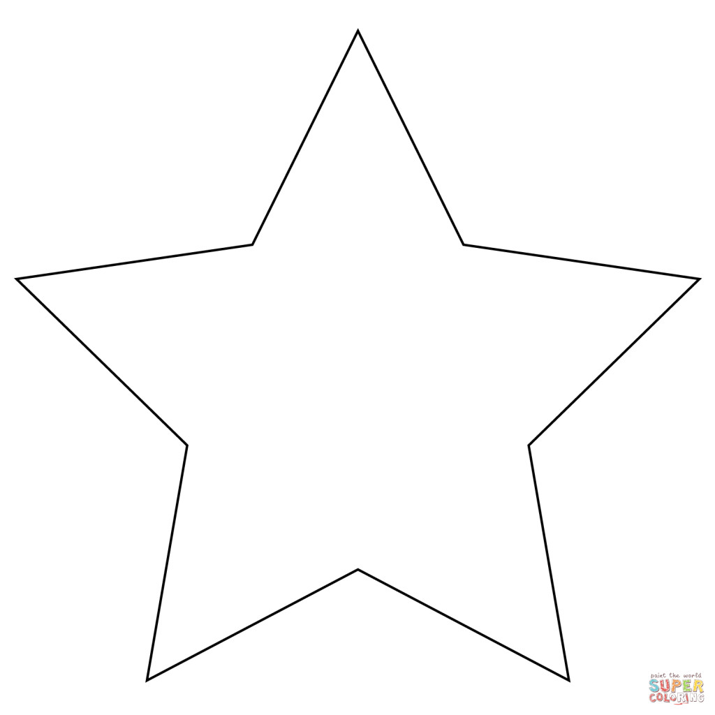 Best ideas about Free Printable Coloring Sheets Of Stars . Save or Pin Coloring Pages Stars Shape Now.