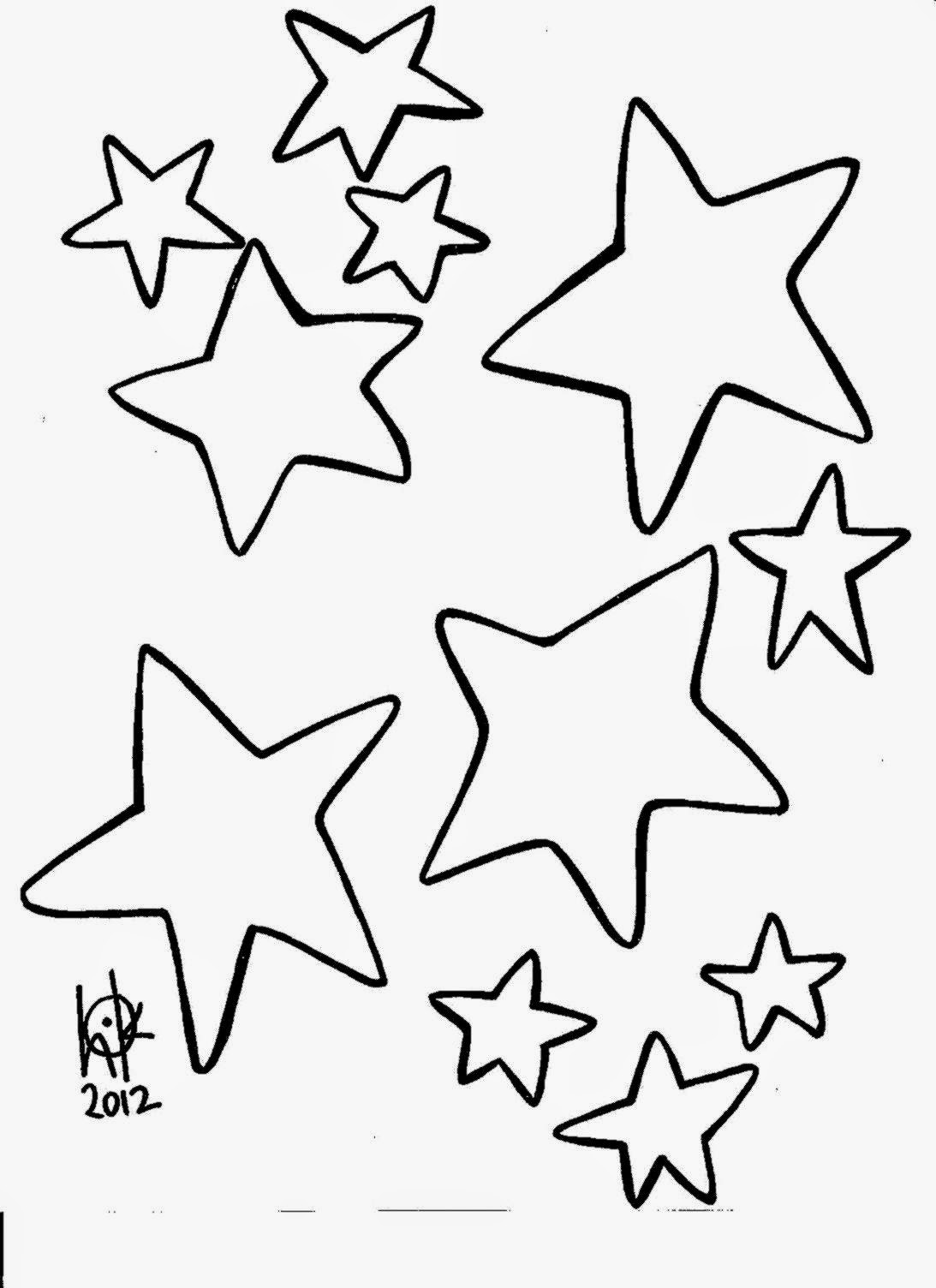 Best ideas about Free Printable Coloring Sheets Of Stars . Save or Pin Coloring Stars Now.