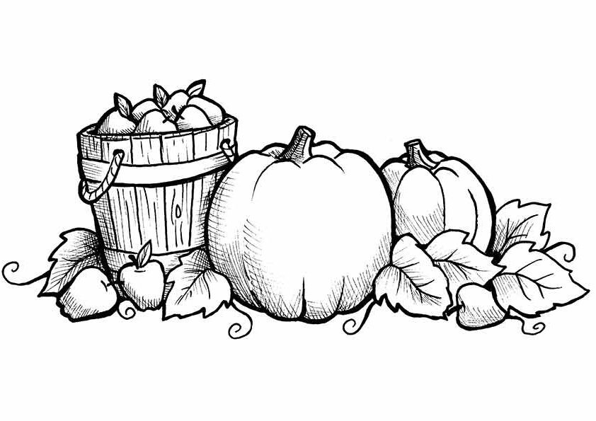 Best ideas about Free Printable Fall Coloring Pages For Kids . Save or Pin Free Printable Fall Coloring Pages for Kids Best Now.