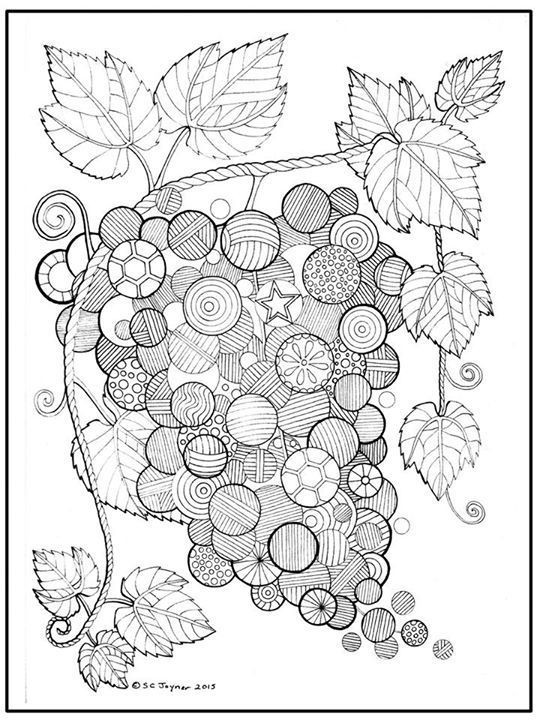 Best ideas about Fruit Coloring Pages For Adults . Save or Pin 161 best coloring fruit ve able images on Pinterest Now.