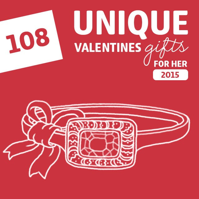 Best ideas about Fun Gift Ideas For Her . Save or Pin 108 Most Unique Valentines Gifts for Her of 2015 Now.