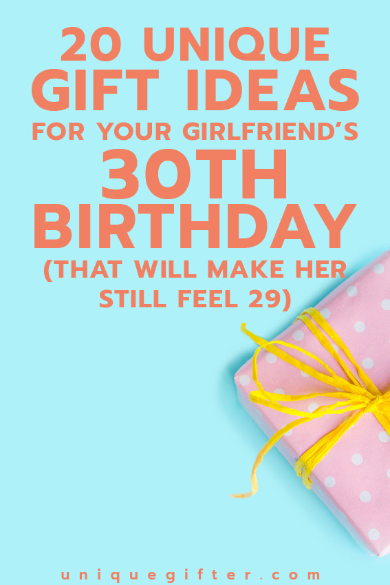 Best ideas about Fun Gift Ideas For Her . Save or Pin 20 Gift Ideas for Your Girlfriend s 30th Birthday that Now.