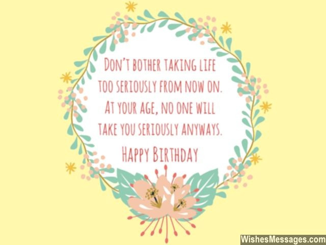Best ideas about Funny 60th Birthday Wishes . Save or Pin 60th Birthday Wishes Quotes and Messages – WishesMessages Now.
