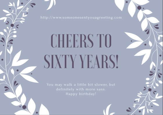 Best ideas about Funny 60th Birthday Wishes . Save or Pin 60th Birthday Wishes and Messages – Someone Sent You A Now.