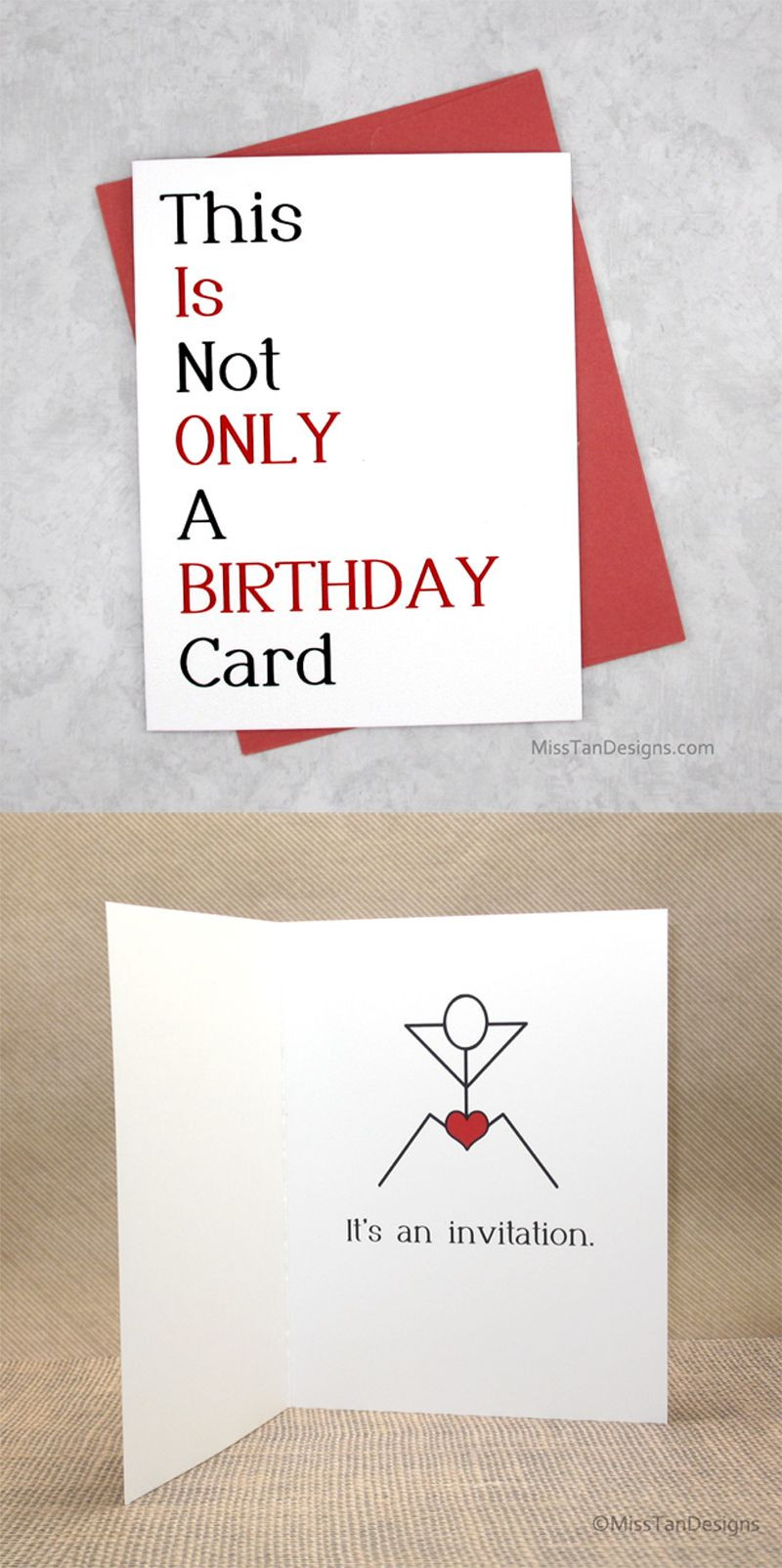 Best ideas about Funny Gift Ideas For Boyfriend . Save or Pin Boyfriend Birthday Cards Not ly Funny Gift by Now.