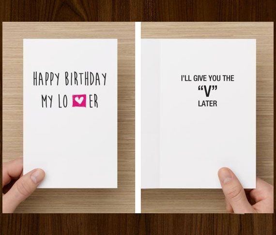 Best ideas about Funny Gift Ideas For Boyfriend . Save or Pin Best 25 Husband birthday cards ideas on Pinterest Now.