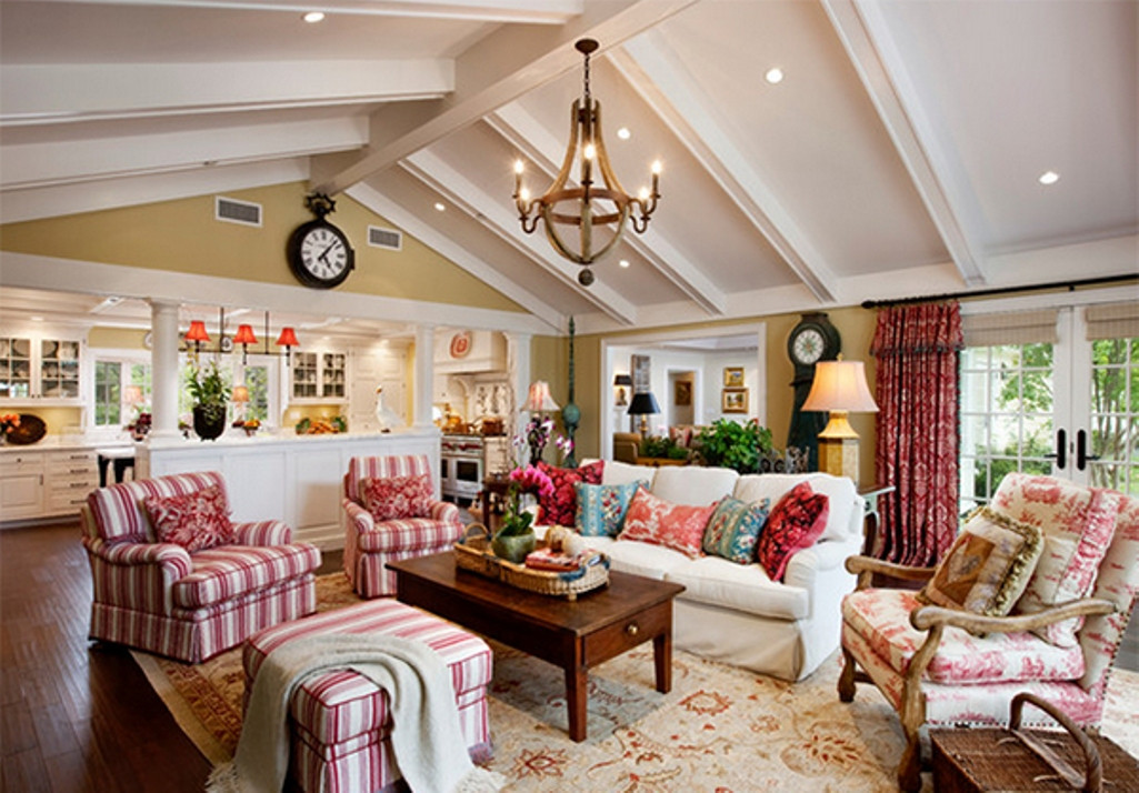 Best ideas about Furniture Ideas For Living Room . Save or Pin Eclectic Living Room Ideas with Country Furniture Living Now.
